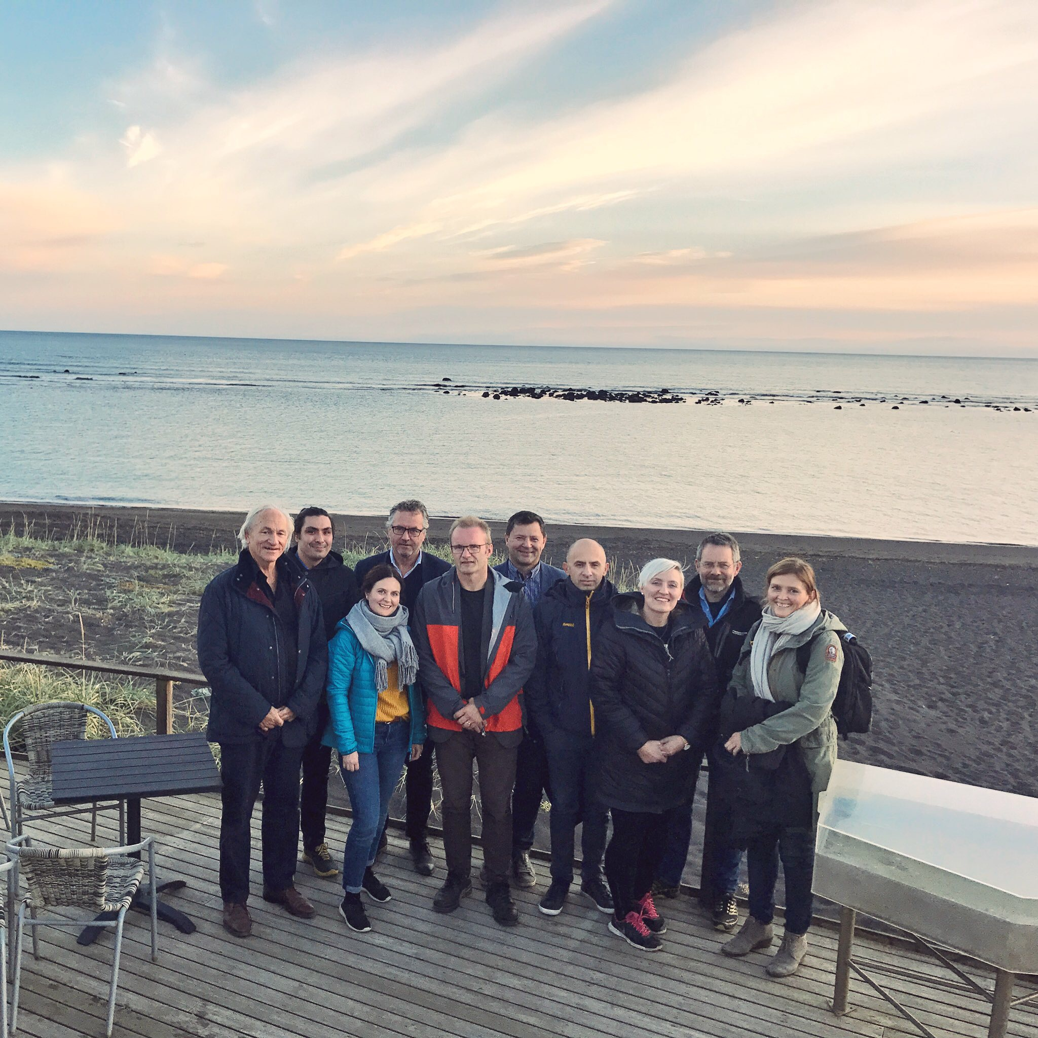 Some of the QualiFish partners from NTNU, UiS, SINTEF Ocean, Matis and NIFES.